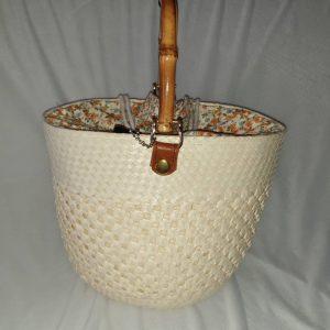 Handmade bag made from Palm Leaf  –  Item HB0002